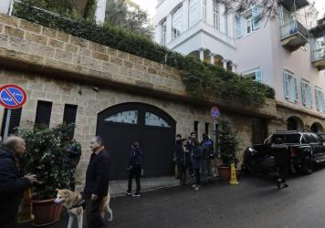 This house in Beirut is referred to in court documents as belonging to former Nissan chief Carlos Ghosn, who fled Japan where he faced criminal charges and ended up in Lebanon.
