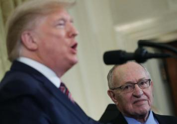 Alan Dershowitz told NPR on Friday he would make constitutional arguments for President Trump at his Senate impeachment trial.