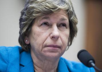 "Randi Weingarten, of the American Federation of Teachers, says the message of her organization's lawsuit is clear: ""Protect the students of the United States of America — not the for-profit [schools] that are making a buck off of them."""