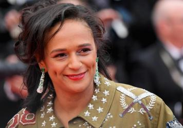 Isabel dos Santos, seen here attending a screening of <em>BlacKkKlansman</em> at the 2018 Cannes Film Festival in France, has been accused of embezzlement and money laundering in Angola.