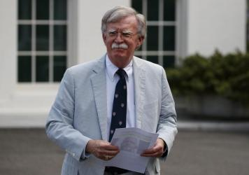 Then-National Security Adviser John Bolton at the White House in Washington, D.C., in July 2019.