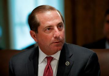 Health and Human Services Secretary Alex Azar led a press briefing Tuesday laying out the agency's strategy for preventing the novel form of coronavirus from taking hold in the U.S.