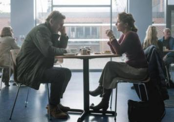 He has a very particular set of coping skills: Tom (Liam Neeson) and Joan (Lesley Manville) face her cancer diagnosis together in <em>Ordinary Love.</em>