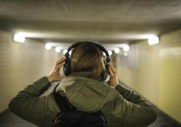 Your brain uses the left side to make sense of lyrics and the right side for a song's melody.