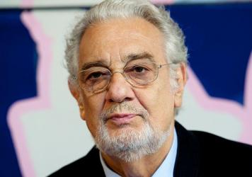 Plácido Domingo at an event in Madrid, Spain in 2016.
