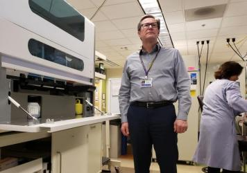 """""""Access to testing is really the major tool we have right now to fight this new coronavirus,"""" says Dr. Keith Jerome, who runs a University of Washington lab in Seattle that can now test for the virus."""