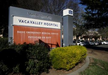 After a coronavirus test came back positive on a patient who had been treated at NorthBay VacaValley Hospital in Vacaville, Calif., in February, about 100 NorthBay workers were sent into self-quarantine for 14 days.