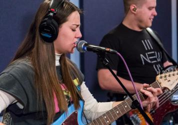 Katie Pruitt performs live in the World Cafe Performance Studio in this session.