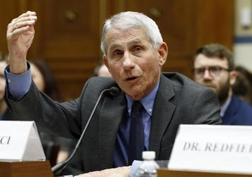 """""""Bottom line, it's going to get worse,"""" Dr. Anthony Fauci, director of the National Institute of Allergy and Infectious Diseases, said of the coronavirus outbreak in the United States. Fauci testified Wednesday at a hearing of the House Committee on Over"""