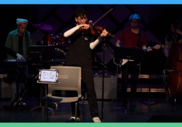 """Asher Jaffe entered the Tiny Desk Contest with the song """"Alphabet Soup."""""""