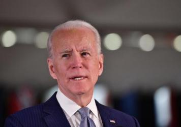 Former Vice President Joe Biden, the Democratic front-runner, is trying to present himself as a calm, experienced alternative to President Trump.