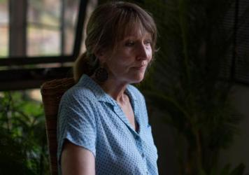 """Debra Parkinson says that she encountered pushback from community members when her team first began talking to women about their experiences with domestic violence. """"When you ignore it, you know, it's not good for anyone,""""' she says. """"It's not good for t"""