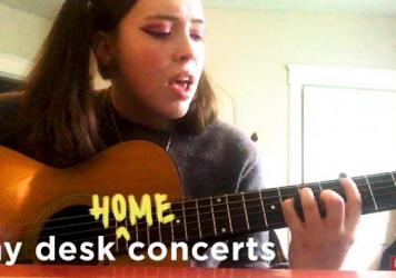 Soccer Mommy plays a Tiny Desk Home concert.