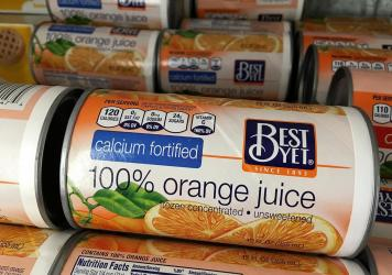 Frozen concentrate orange juice futures have been soaring amid increased consumer demand.