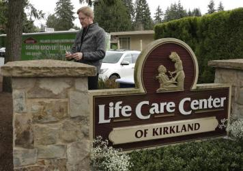 """In a statement, Life Care Center of Kirkland has """"successfully"""" worked with Centers for Medicare and Medicaid Services to address the """"Immediate Jeopardy"""" citations."""