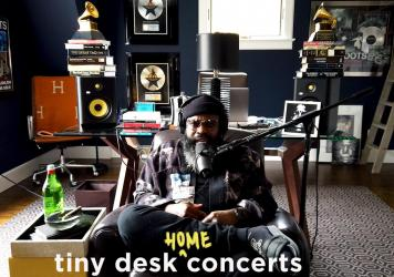 Black Thought plays a Tiny Desk Home concert.