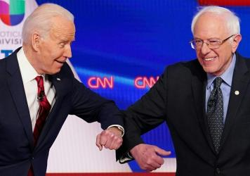 Joe Biden has made overtures to Bernie Sanders and progressive groups that had backed the Vermont senator.