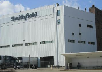 A Smithfield Foods plant in Sioux Falls, S.D., that produces 4% to 5% of the nation's pork supply has become the latest meat processing facility to shut down as COVID-19 sickens plant workers.