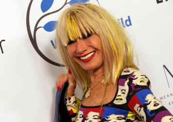 Betsey Johnson attends the Women's Guild Cedars-Sinai annual luncheon at the Regent Beverly Wilshire Hotel on November 6, 2019 in Beverly Hills, Calif.