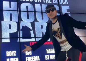 """New Kids on the Block's """"House Party,"""" featuring Boyz II Men, Big Freedia, Jordin Sparks and Naughty by Nature, is just one of the coronavirus quarantine-inspired songs released over the past months."""