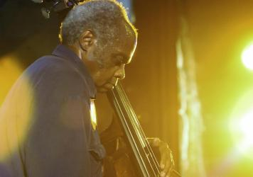 Henry Grimes performs in New York in 2003. Grimes died on April 15 at the age of 84, of complications from coronavirus.