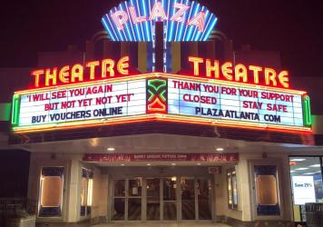 "In Georgia, Gov. Brian Kemp has authorized the opening of theaters, but Chris Escobar, owner of the <a href=""https://plazaatlanta.com/"">Plaza Theatre</a> in Atlanta, won't be unlocking the doors quite yet. ""I'm not forcing my employees to choose between"