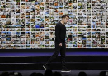 Airbnb co-founder and CEO Brian Chesky during an event in 2018. On Tuesday, the company announced it is laying off 1,900 employees, or about a quarter its workforce, as the coronavirus rattles the travel industry.