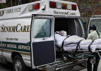 """""""It was certainly expected that nursing homes would be hit but it was not inevitable that they'd be hit this hard,"""" Richard Mollot, executive director of New York-based Long Term Care Community Coalition, told NPR."""