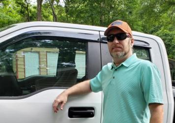 Jonathan Baird and his wife, Nichole, say they've had to decide between making their car payment and buying food since she lost her job in the pandemic. His mortgage and auto lenders told him he didn't qualify for help.
