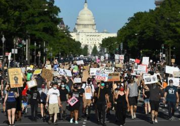 Many Americans have been protesting for racial equity and and an end to police brutality.