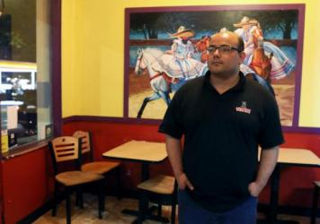 """""""Black Lives Matter really saved our business,"""" said Salvador Sahagun, who manages a Mexican restaurant near the edge of the zone. He voted for Trump in 2016 and said he might do so again in November."""