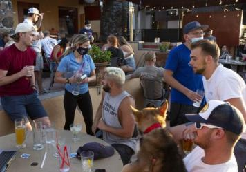As normal activities such as dining out resume, there has been an increase in cases in people in their 20s and 30s in pockets around the country. Some experts say it's because of lack of social distancing and mask wearing.
