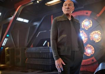 Patrick Stewart plays Captain Jean-Luc Picard on the CBS All Access series<em> Star Trek: Picard. </em>