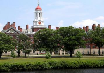 Harvard University, shown here, and the Massachusetts Institute of Technology sued the Trump administration over a rule change that would have barred international college students from taking fully online course loads in the United States. In court on T