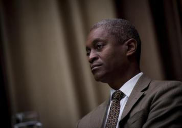 Raphael Bostic, president and chief executive officer of the Federal Reserve Bank of Atlanta, says his organization has a big role to play in reducing racial economic inequities, which he says, is crucial to a stable economy.