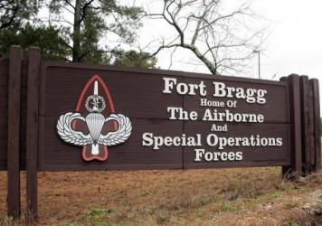 Fort Bragg in Fayetteville, North Carolina is one of the ten U.S. Army bases named after Confederate military leaders. Congress is considering legislation to change those names as part of the national movement to address racial discrimination.