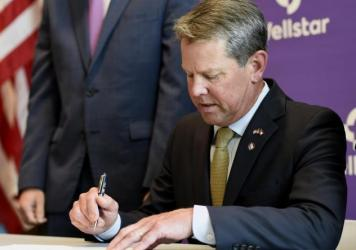 Georgia Gov. Brian Kemp is taking Atlanta Mayor Keisha Lance Bottoms and the City Council to court to block the city's mask-wearing mandate.