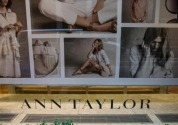An Ann Taylor store in New York City in 2015. Ascena Retail Group, which owns Ann Taylor, Loft and Lane Bryant, has filed for bankruptcy.