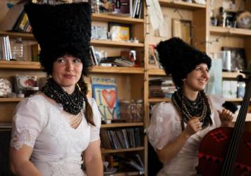 Tiny Desk Concert with DakhaBrakha on April 3, 2015