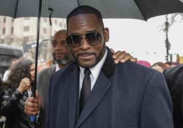 """An attorney for R. Kelly, seen in May 2019, said his client """"had nothing to do with any of these alleged acts by those charged."""""""