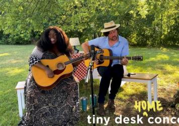 Yola plays a Tiny Desk home concert.
