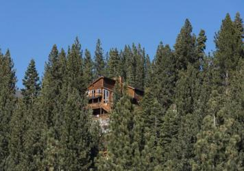 My dream Zoom house in Truckee, California.
