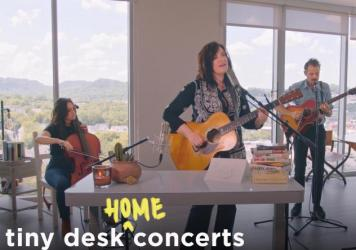 Brandy Clark plays a Tiny Desk (home) concert.