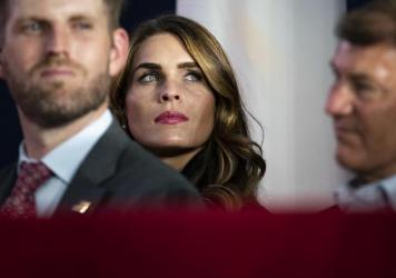 Hope Hicks, who has traveled with President Trump at least three times in the past week alone, has tested positive for the coronavirus.