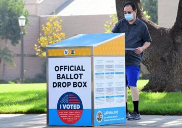 With more people voting by mail this year, Facebook and other social media companies are preparing for a potential delay in election results.