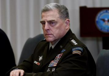 The chairman of the Joint Chiefs of Staff, Gen. Mark Milley, talked with NPR's Steve Inskeep about the potential for a disputed election.