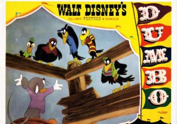"""Disney added a warning on its streaming service to some of its titles with racist depictions, including <em>Dumbo</em>. The crows' appearance and musical number in the movie """"pay homage to racist minstrel shows,"""" Disney said."""