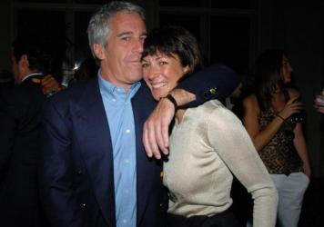 Jeffrey Epstein and Ghislaine Maxwell, shown here in 2005, allegedly ran a sex-trafficking operation together.