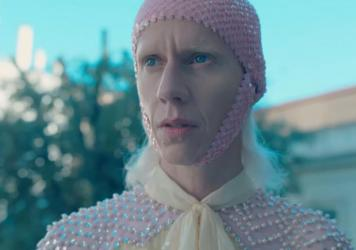 Silvia Calderoni stars in <em>Ouverture Of Something That Never Ended,</em> a seven-part film collaboration between award-winning director Gus Van Sant and Gucci creative director Alessandro Michele.