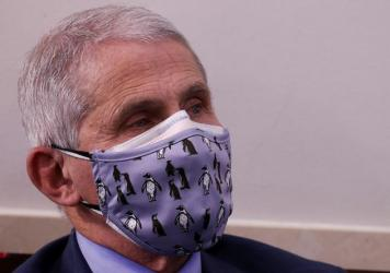 "Dr. Anthony Fauci, director of the National Institute of Allergy and Infectious Diseases, warns that holiday gatherings could lead to ""a really dark time for us"" by mid-January."
